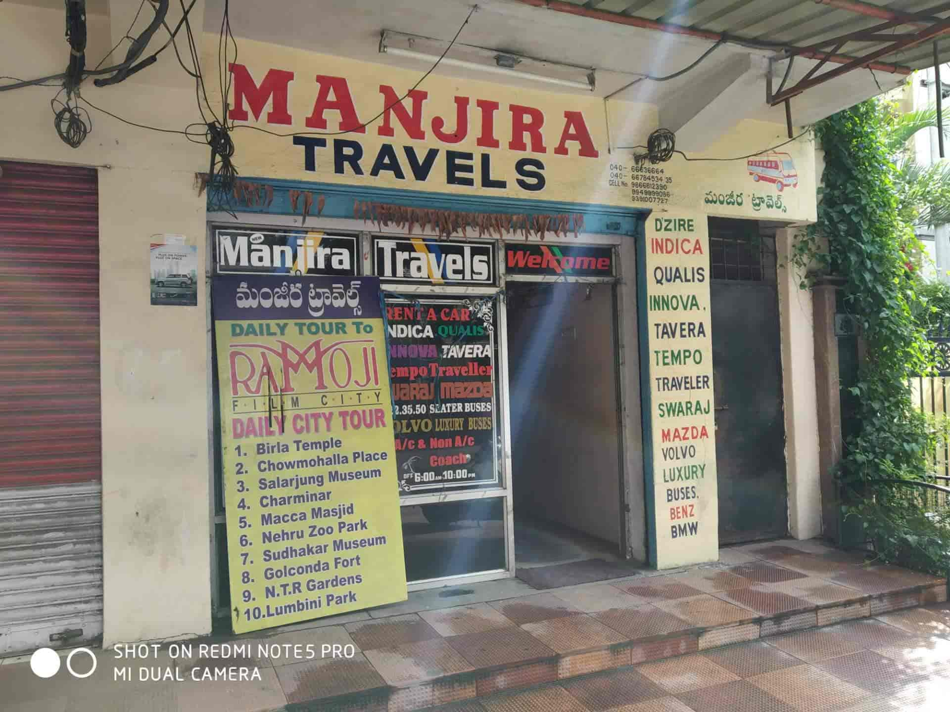 Manjira Travels Photos, Barkatpura, Hyderabad- Pictures & Images