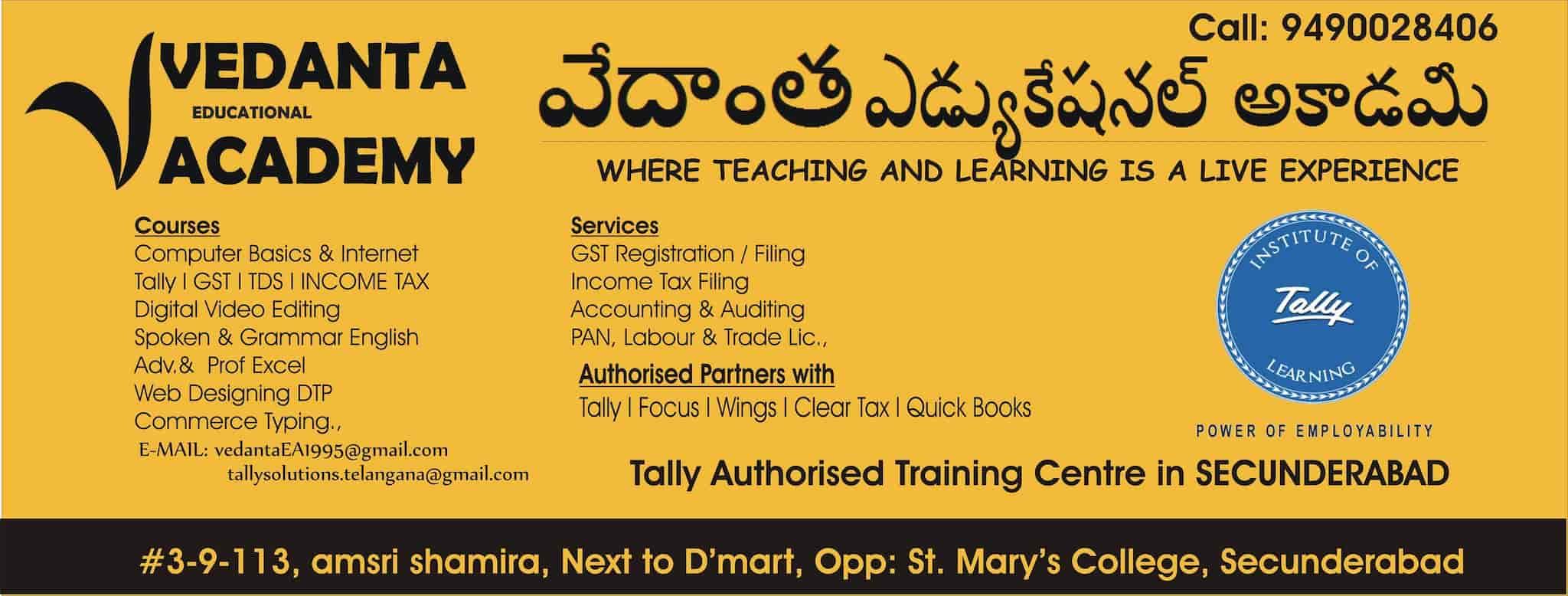 Vedanta Educational Academy, Secunderabad - Computer