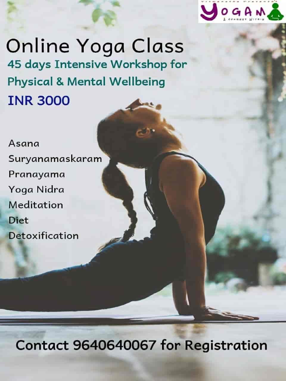 Viswanatha Prasanth S Yogam Fitness Ameenpur Road Yoga Classes In Hyderabad Justdial