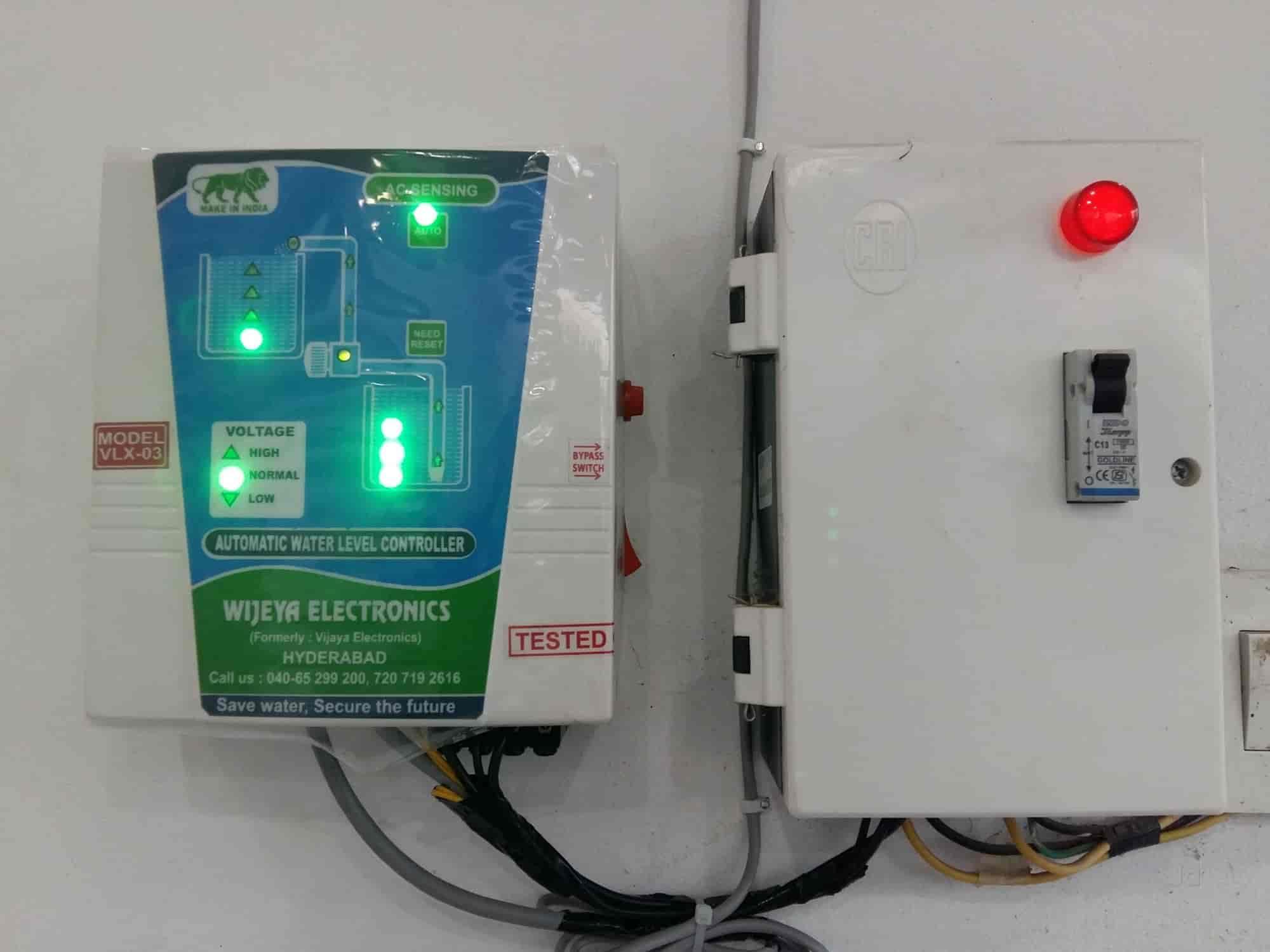 Vijaya Electronics Moosapet Water Level Controller Dealers In Hyderabad Justdial
