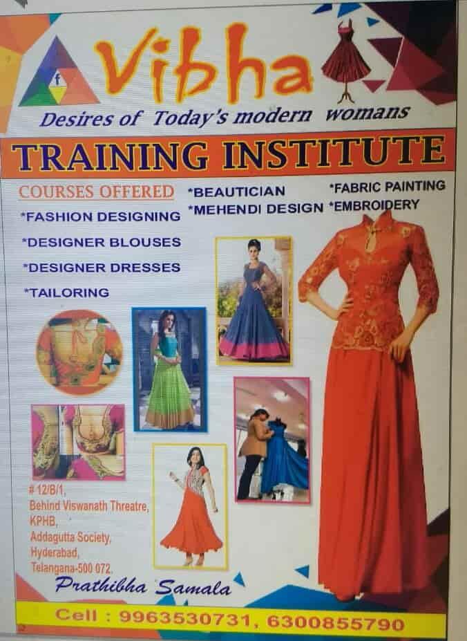 Vibha Fashion Desigining Kukatpally Fashion Designing Institutes In Hyderabad Justdial