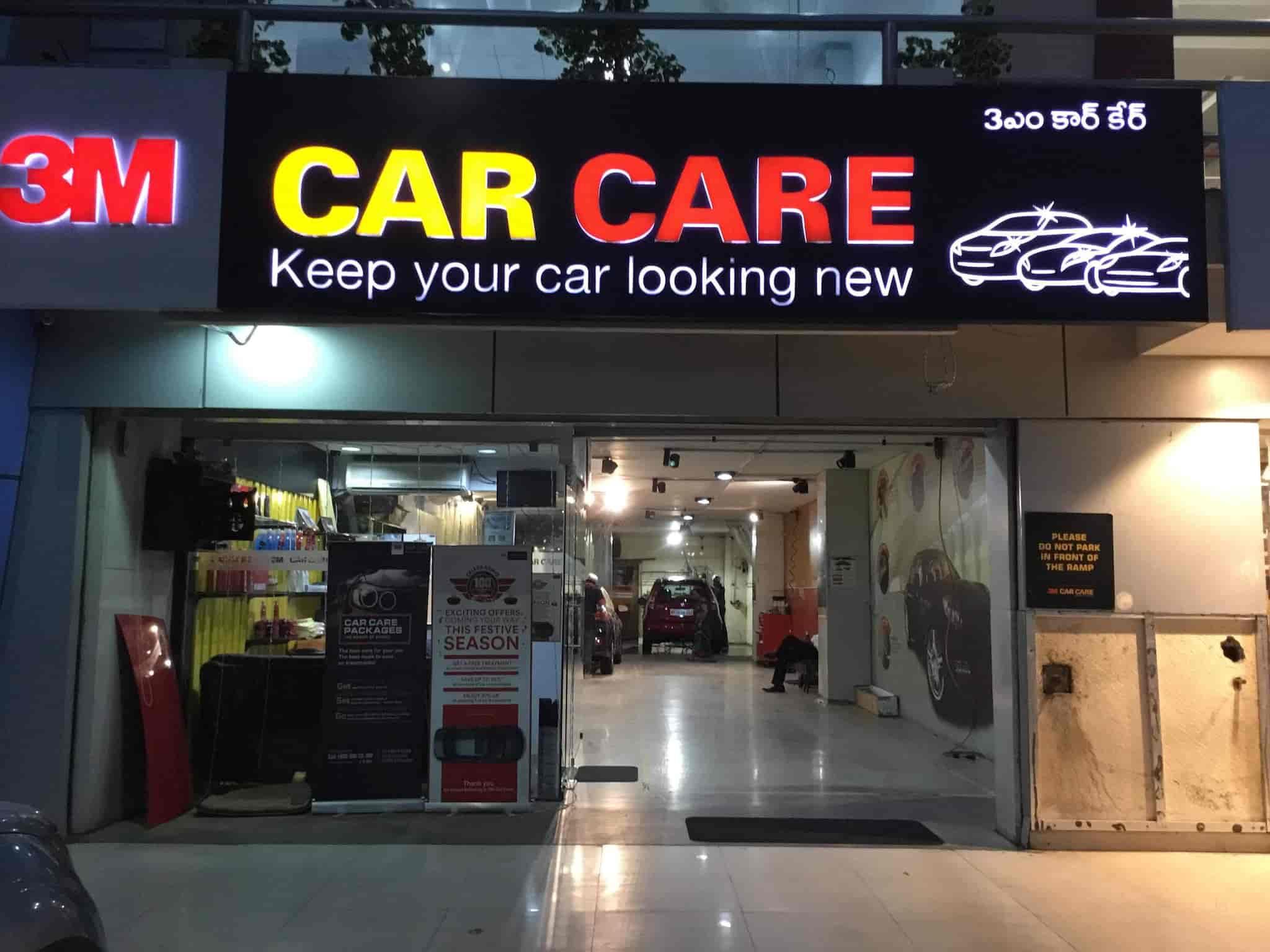 3m Car Care Banjara Hills Car Washing Services In Hyderabad
