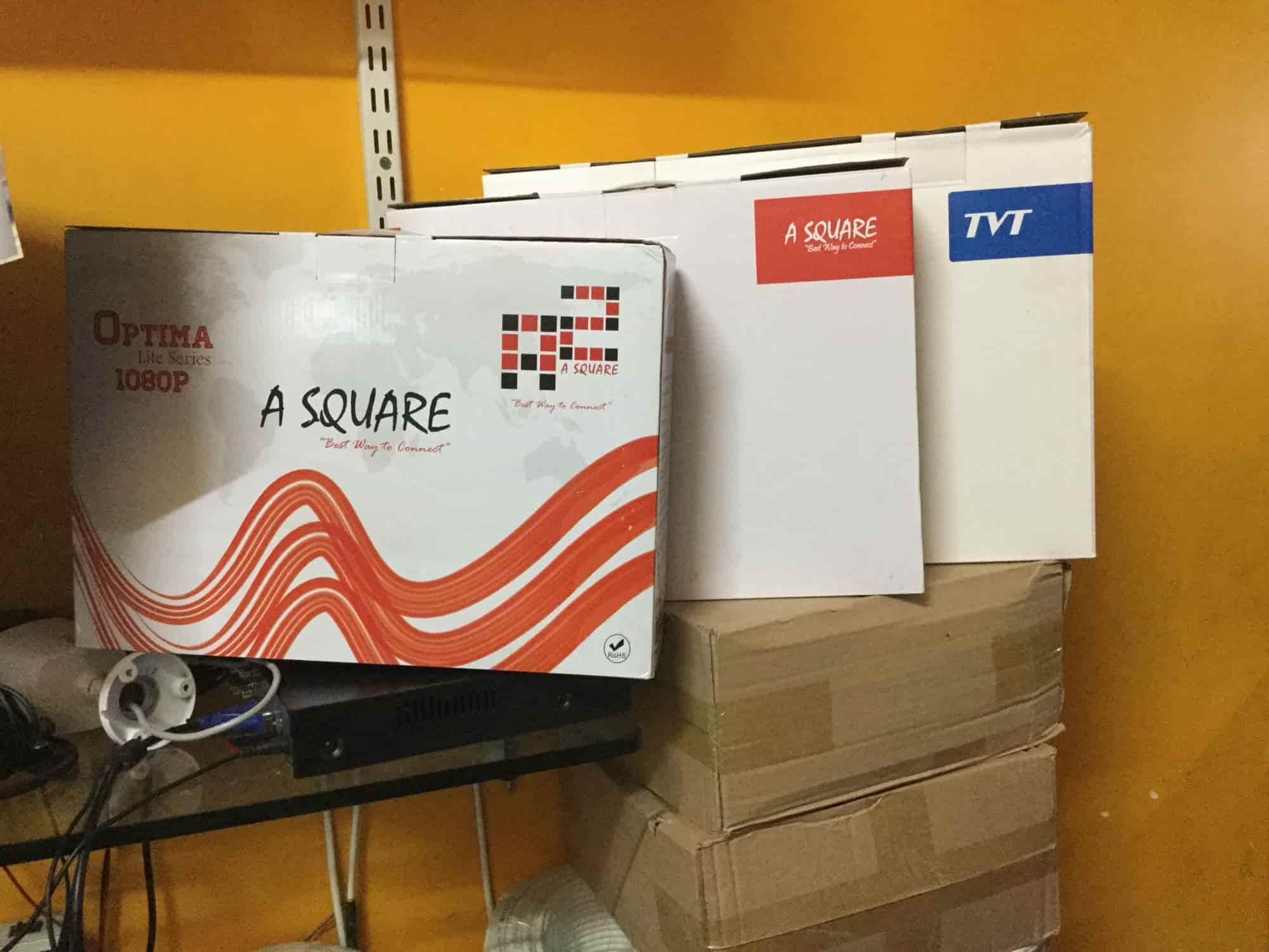 Asquare TVT CCTV Cables HDMI VGA, Koti - CCTV Dealers in Hyderabad