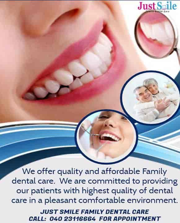 Just Smile Family Dental Care - Hospitals - Book Appointment Online