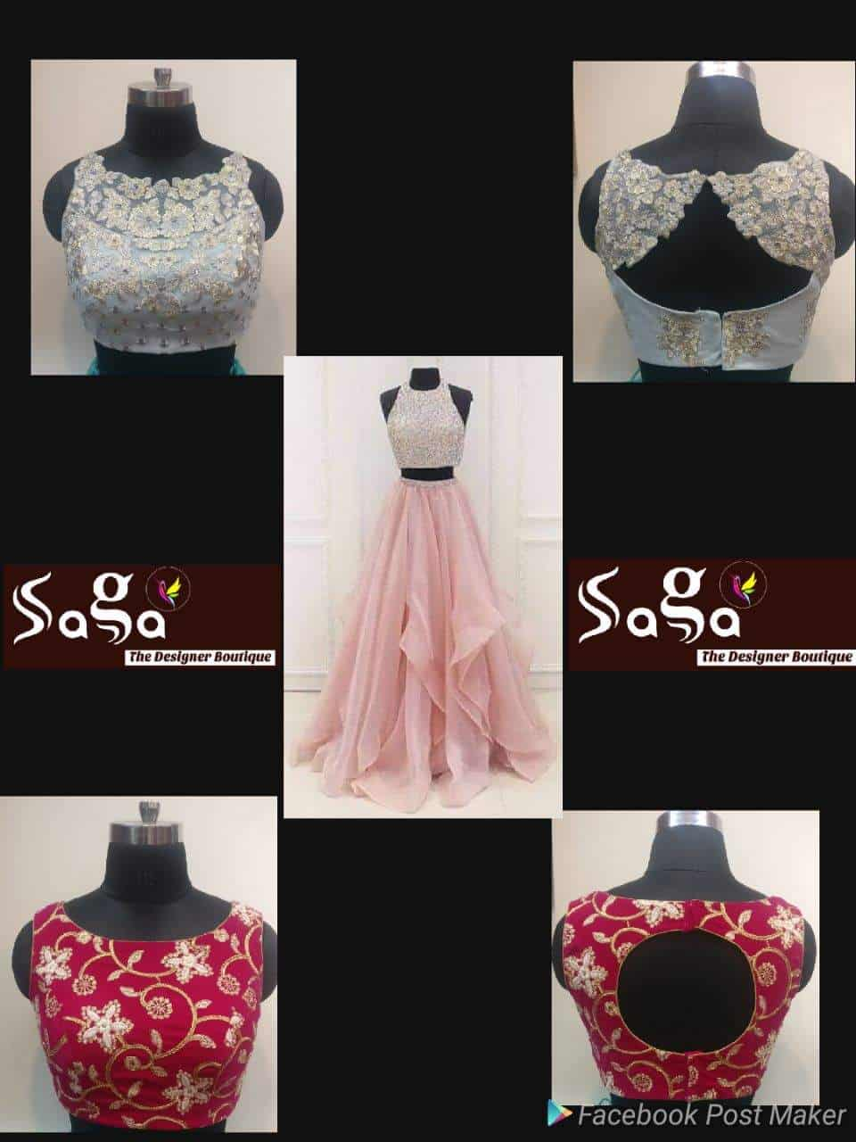 Saga The Designer Boutique Neredmet Boutiques In Hyderabad Justdial
