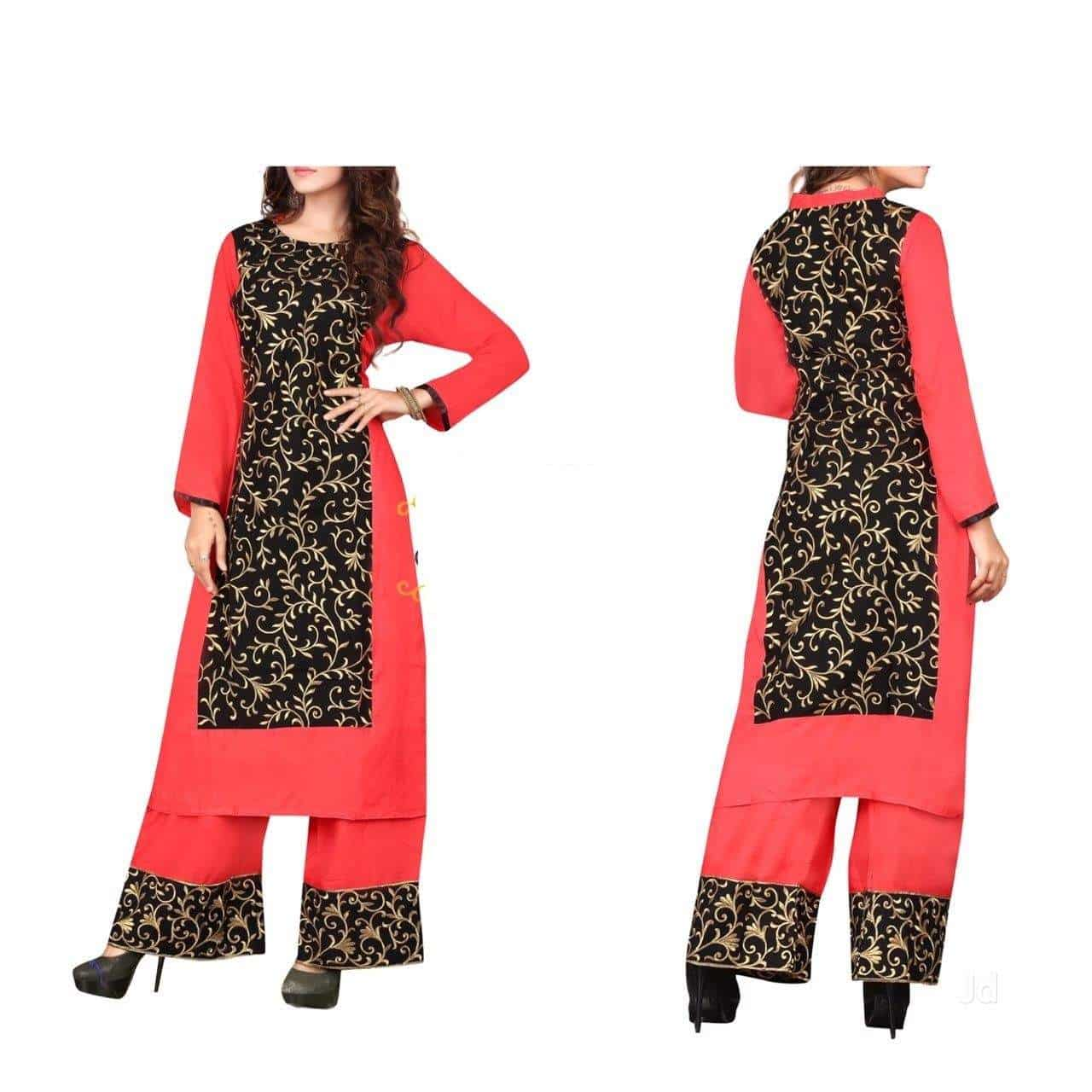 db15cb105e ... Stitched Embroidery Lawn Kurties - R S Designers Photos, Edi Bazar,  Hyderabad - Women Boutiques ...