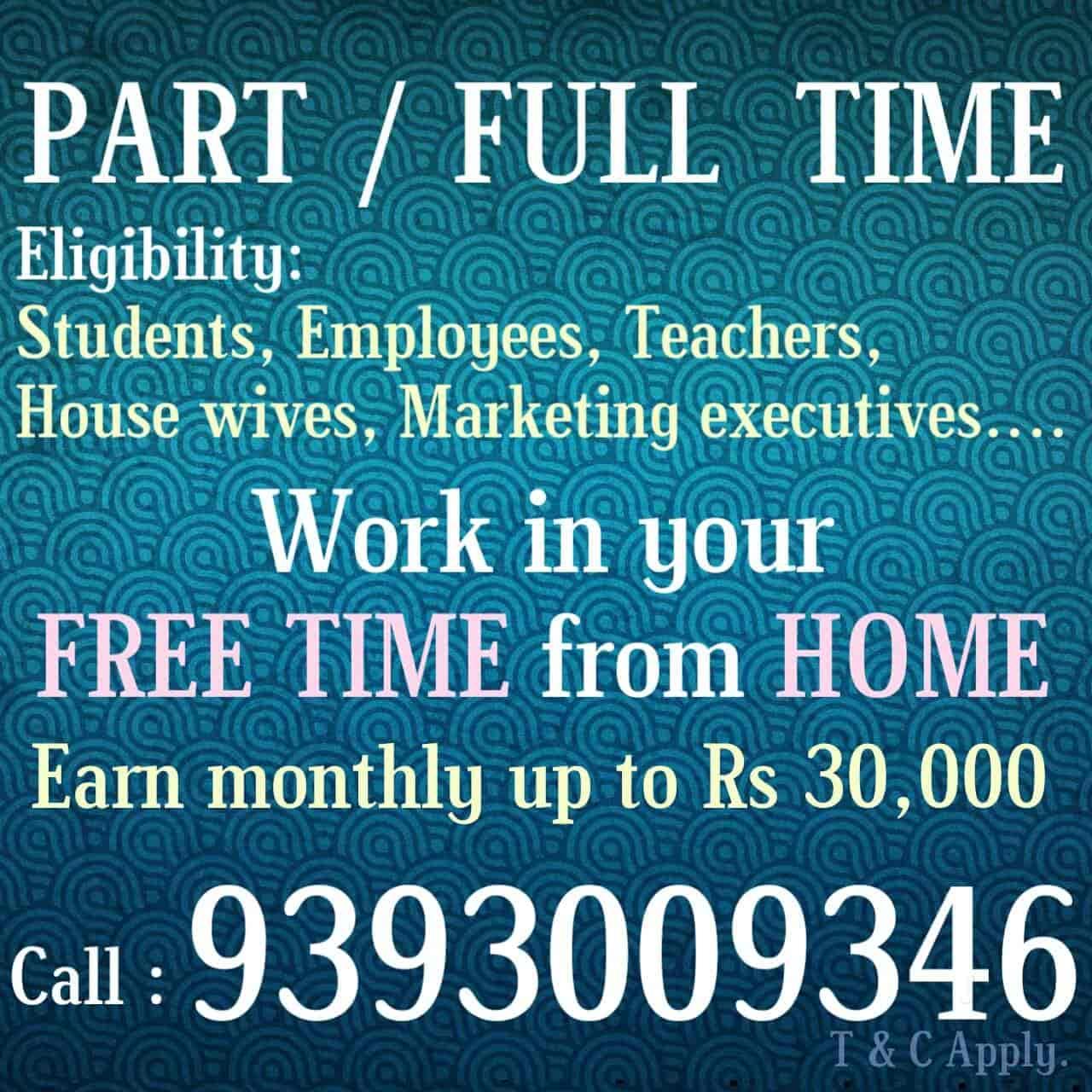 Puli Vinayak Rao Punjagutta Work From Home Jobs In Hyderabad