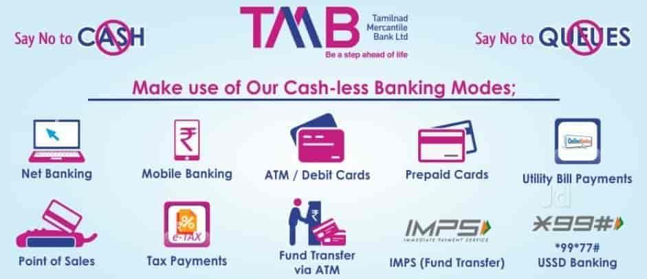 Tamilnad Mercantile Bank Ltd, Rikabgunj - Banks in Hyderabad