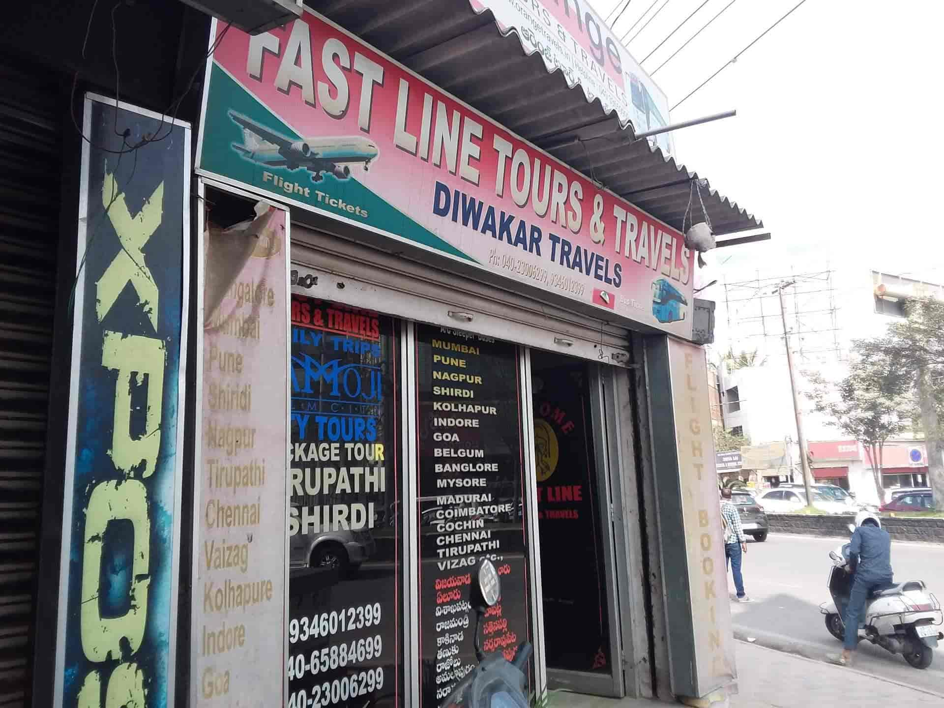 Fast Line Tours & Travels, Gachibowli - Travel Agents in