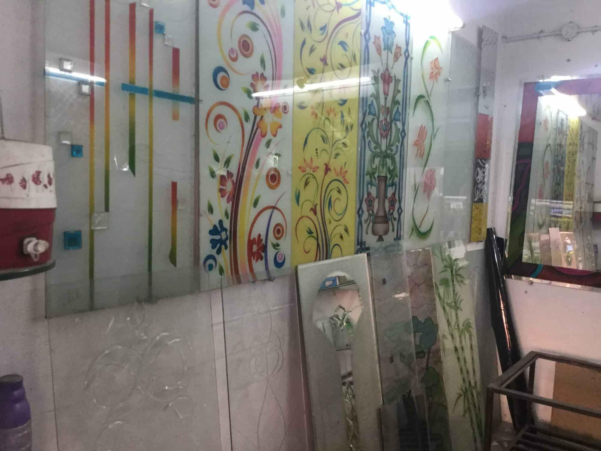 Glass Designing Job Work  Unique Glass Centre Photos, Rajendra