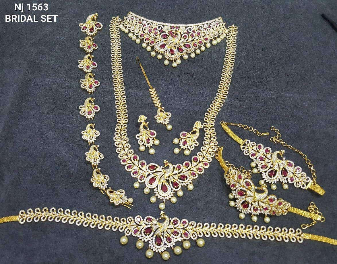 one gram gold jewellery designs in hyderabad