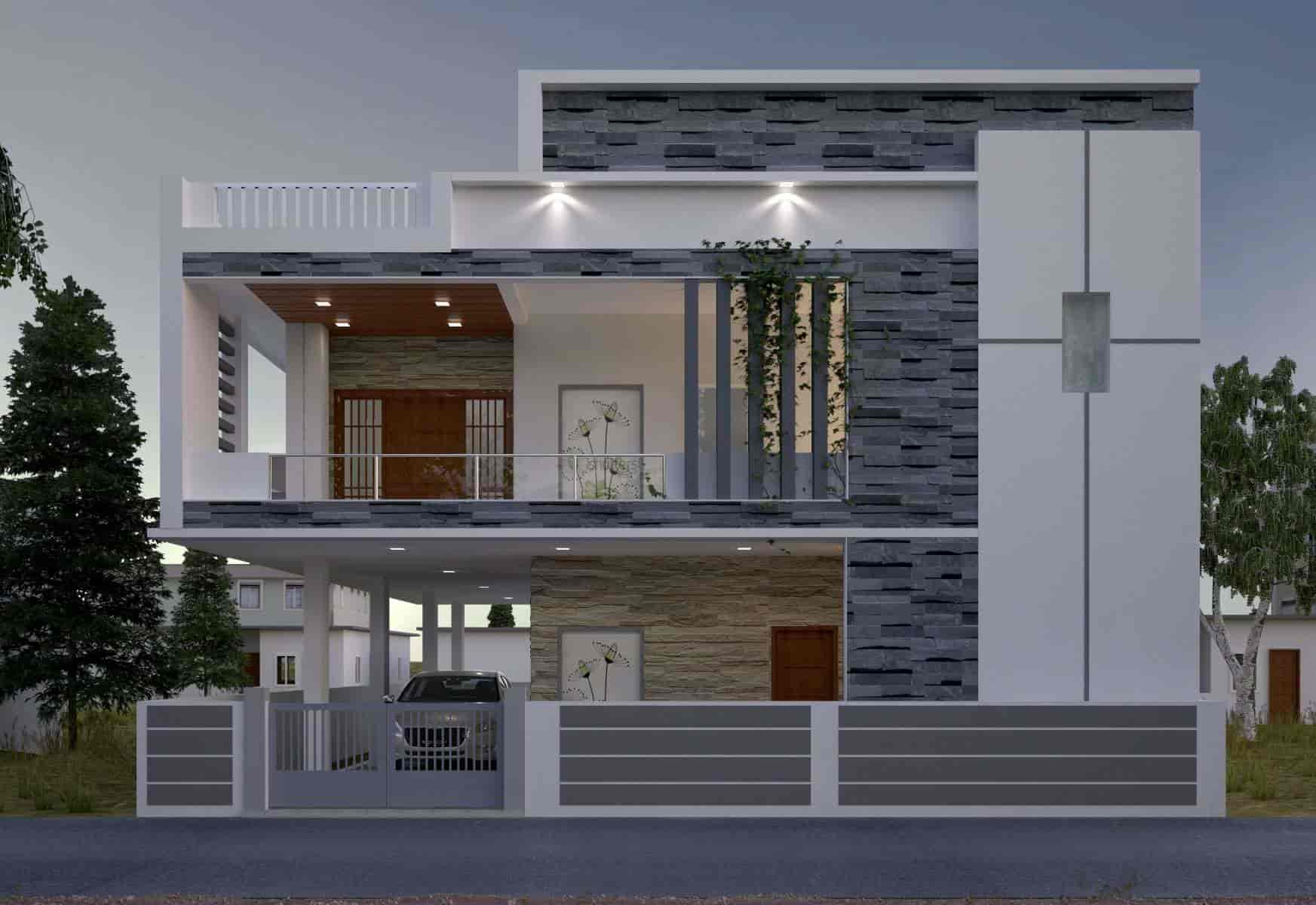 Hyderabad House Elevation Design