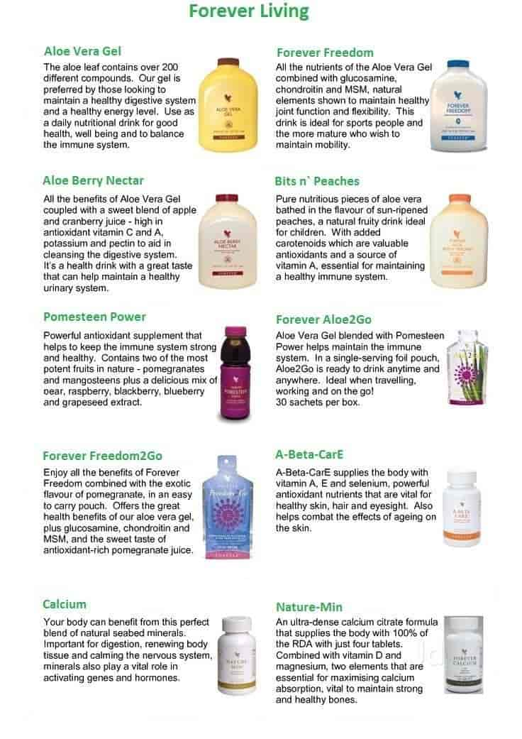 FOREVER LIVING CATALOGUE DOWNLOAD
