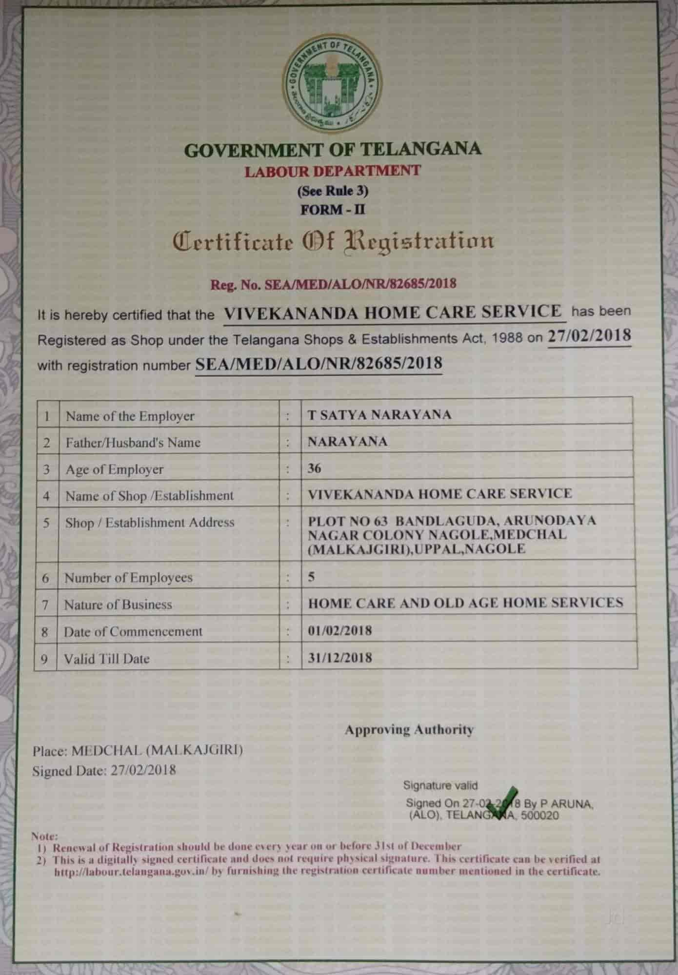 Vivekananda Home Care Service Nagole Home Nursing Services In