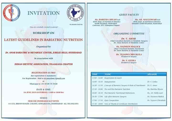 Dr Amar Bariatric Metabolic Center Photos, Jubilee Hills, Hyderabad