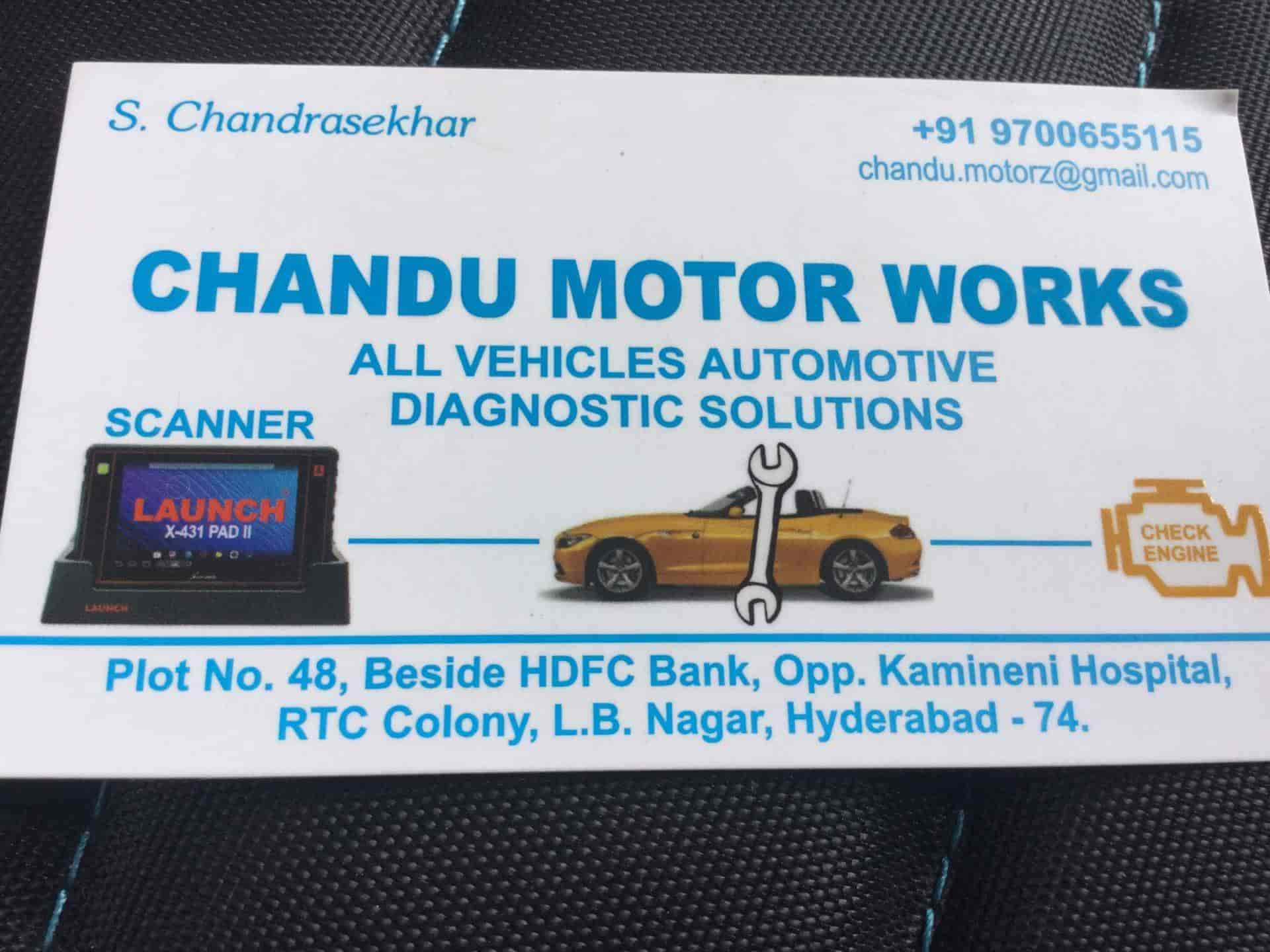 Chandu Motor Works, L B Nagar - Truck Repair & Services in Hyderabad