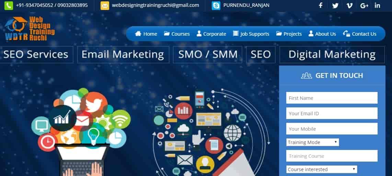 Web Designing Training In Ruchi Dilsukhnagar Internet Website Designers In Hyderabad Justdial