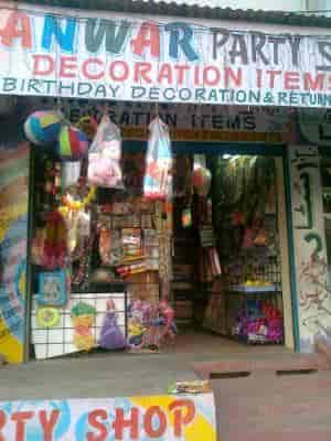 Anwar Party Shop Decoration Items Reviews Kishanbagh Hyderabad