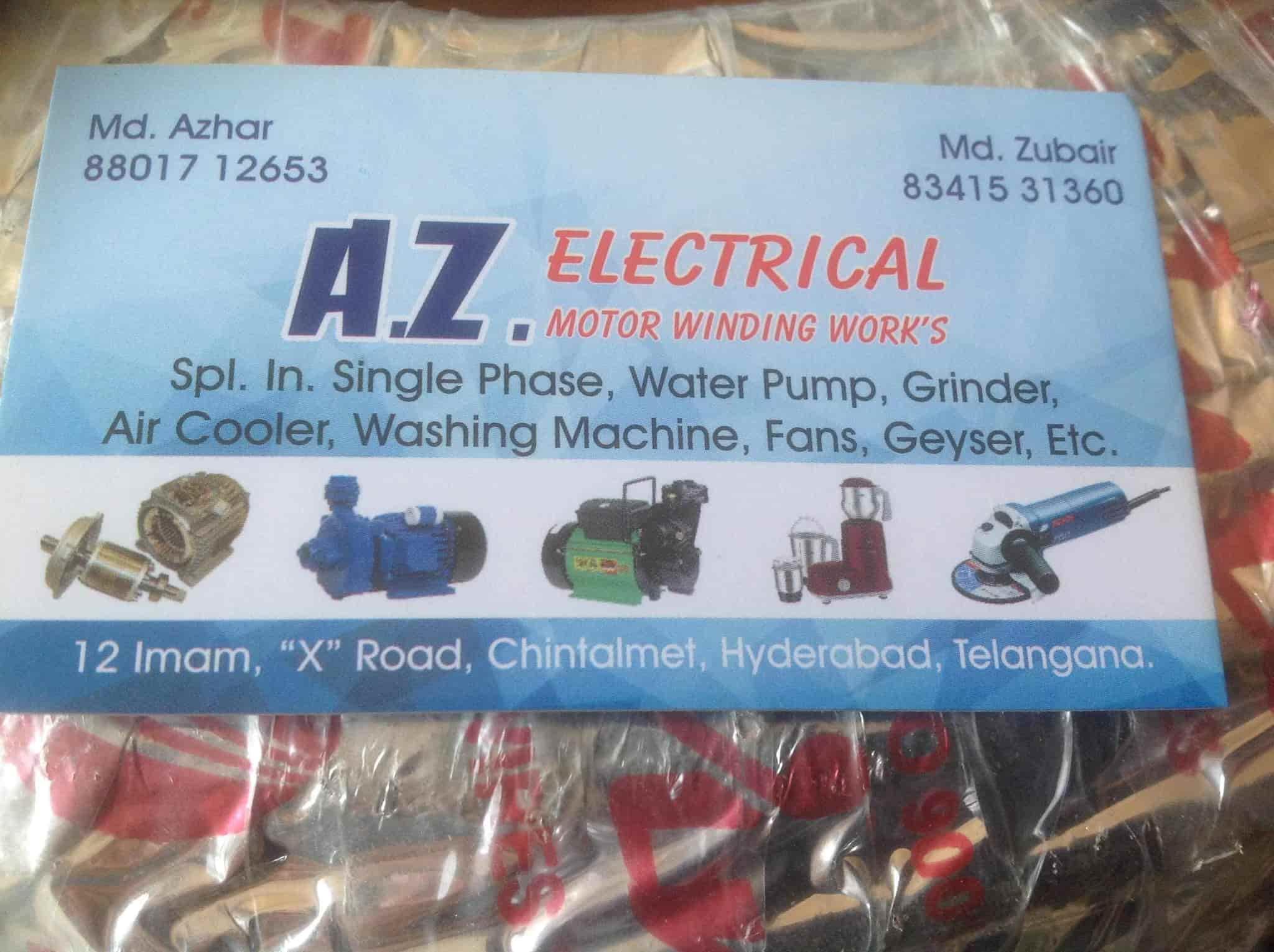 Az Electrical Motor Winding Works Photos, Chintalmet Attapur ...