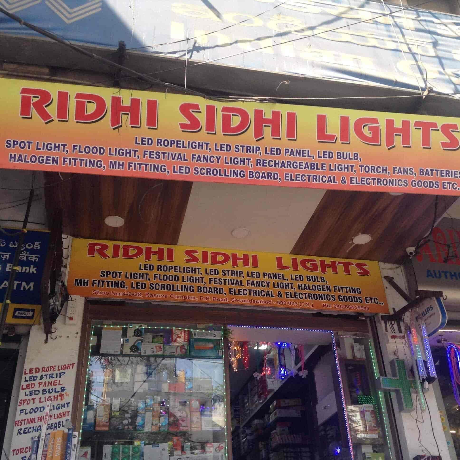 Ridhi Sidhi Lights, Secunderabad - LED Light Dealers in Hyderabad