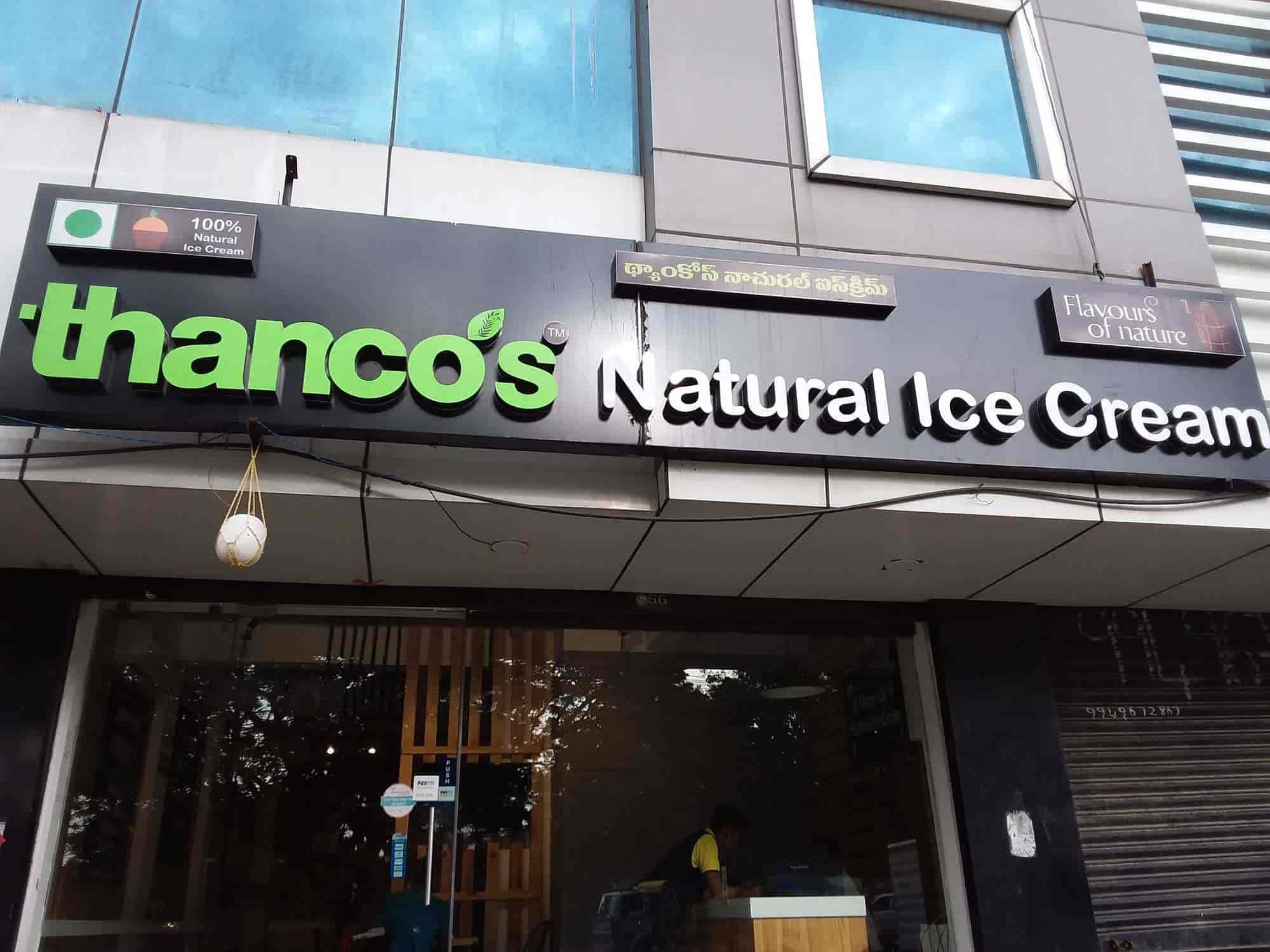 Thanco S Natural Ice Cream Gachibowli Hyderabad Ice