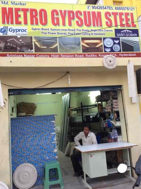 Metro Gypsum Steel, Kapra - False Ceiling Contractors in