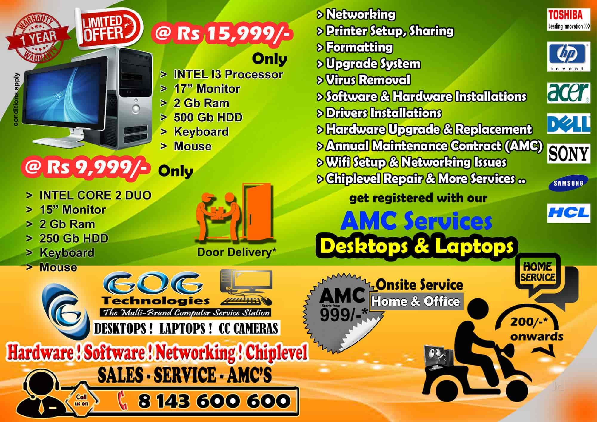 GOG Technologies, Ramanthapur - CCTV Dealers in Hyderabad - Justdial