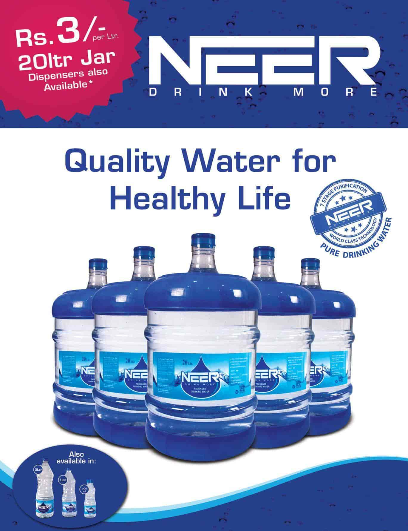 Water Cans Neer Multibrand Mineral Supply Photos Madhapur Hyderabad