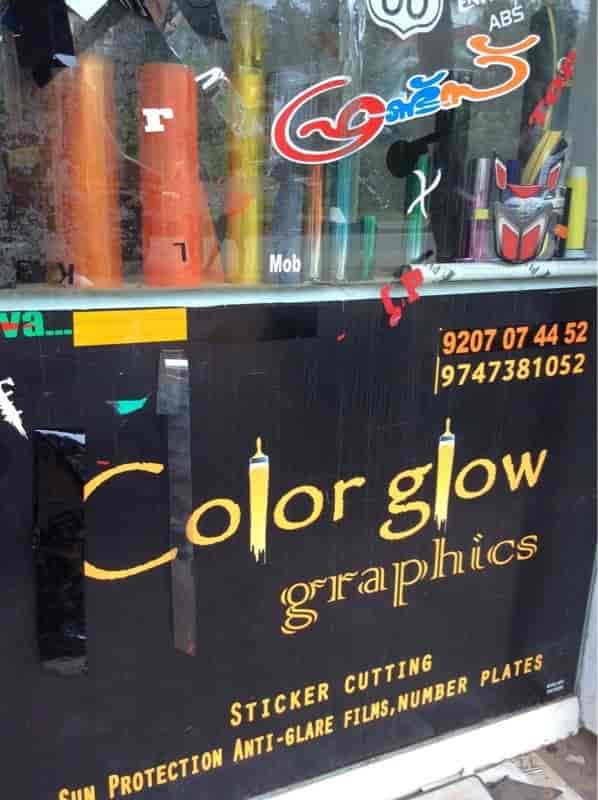 Color Glow Graphics, Thodupuzha - Sticker Dealers in Idukki