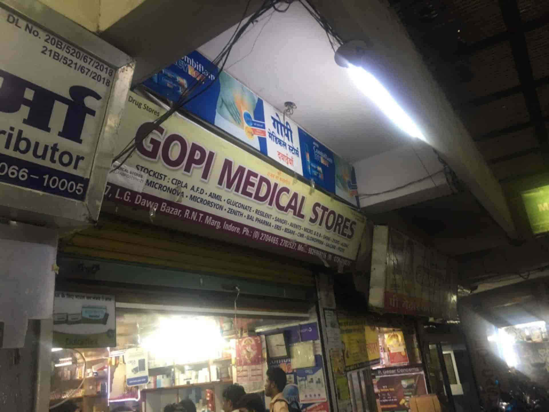 Gopi Medical Agency, Dawa Bazar - Chemists in Indore - Justdial