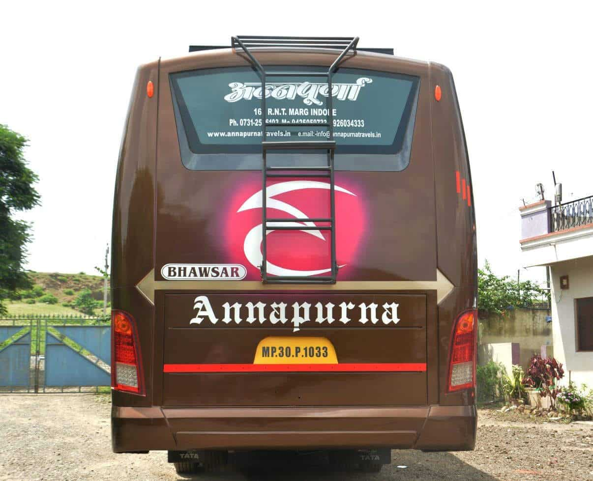 Annapurna Bus Service, R N T Road - Bus On Hire in Indore