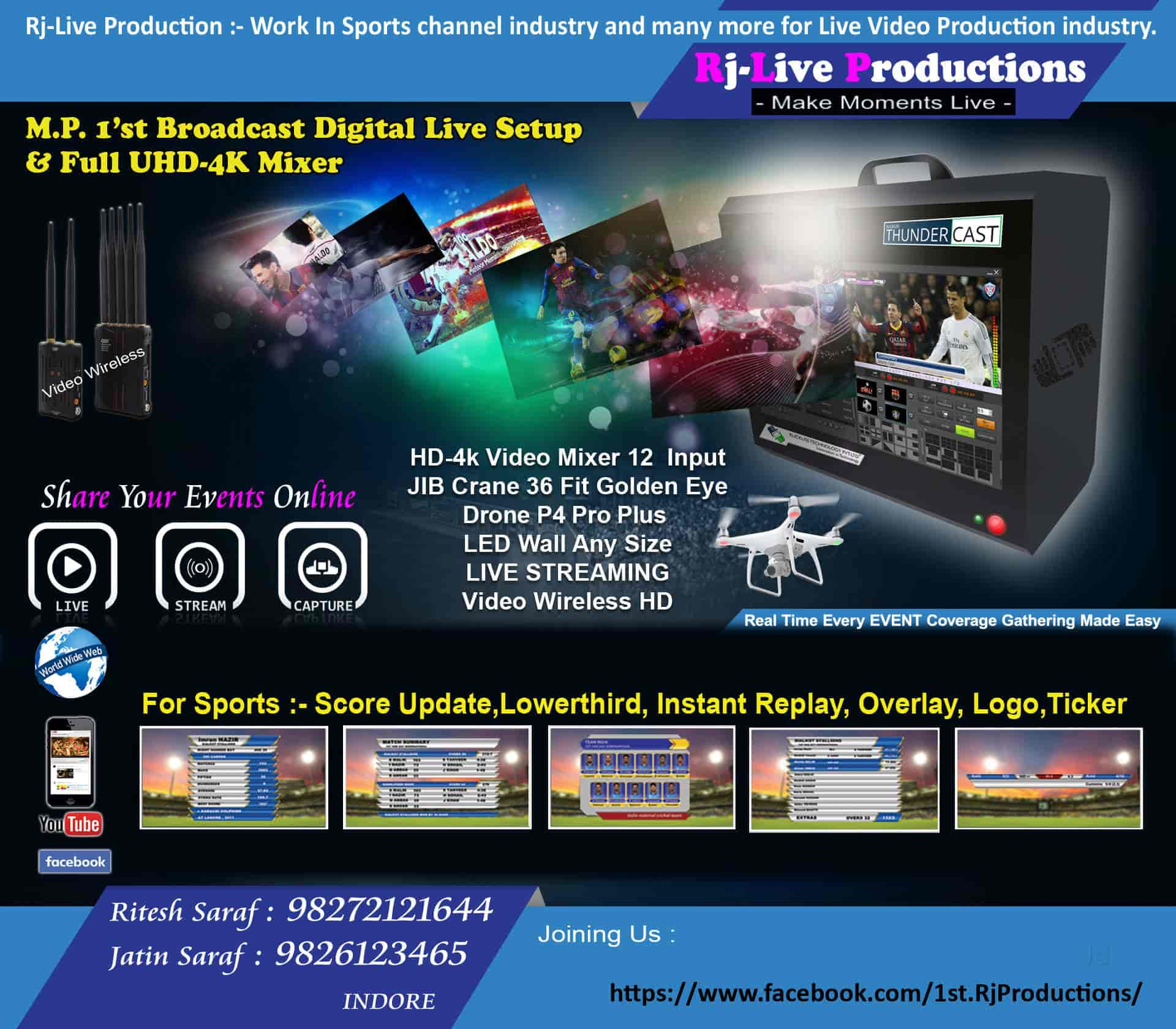 RJ Systems - Payal Video Photos, Jail Road, Indore- Pictures
