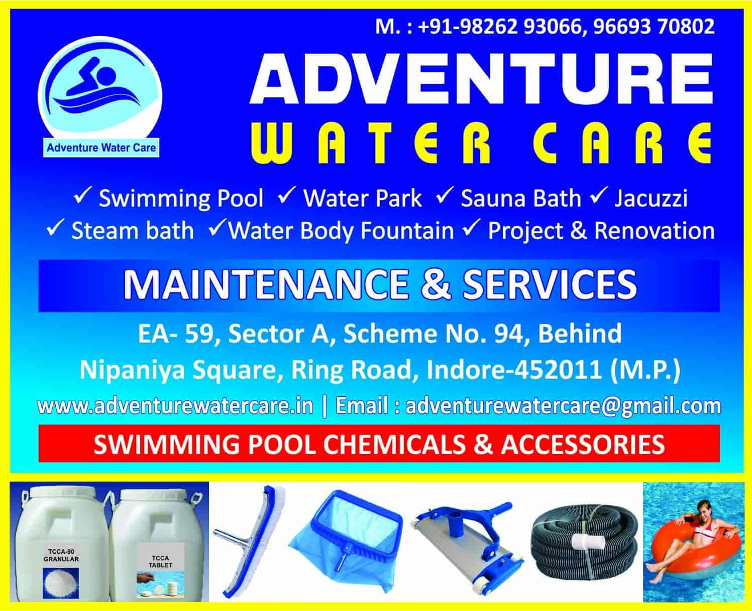 Adventure Water Care, Dewas Naka Indore - Swimming Pools in