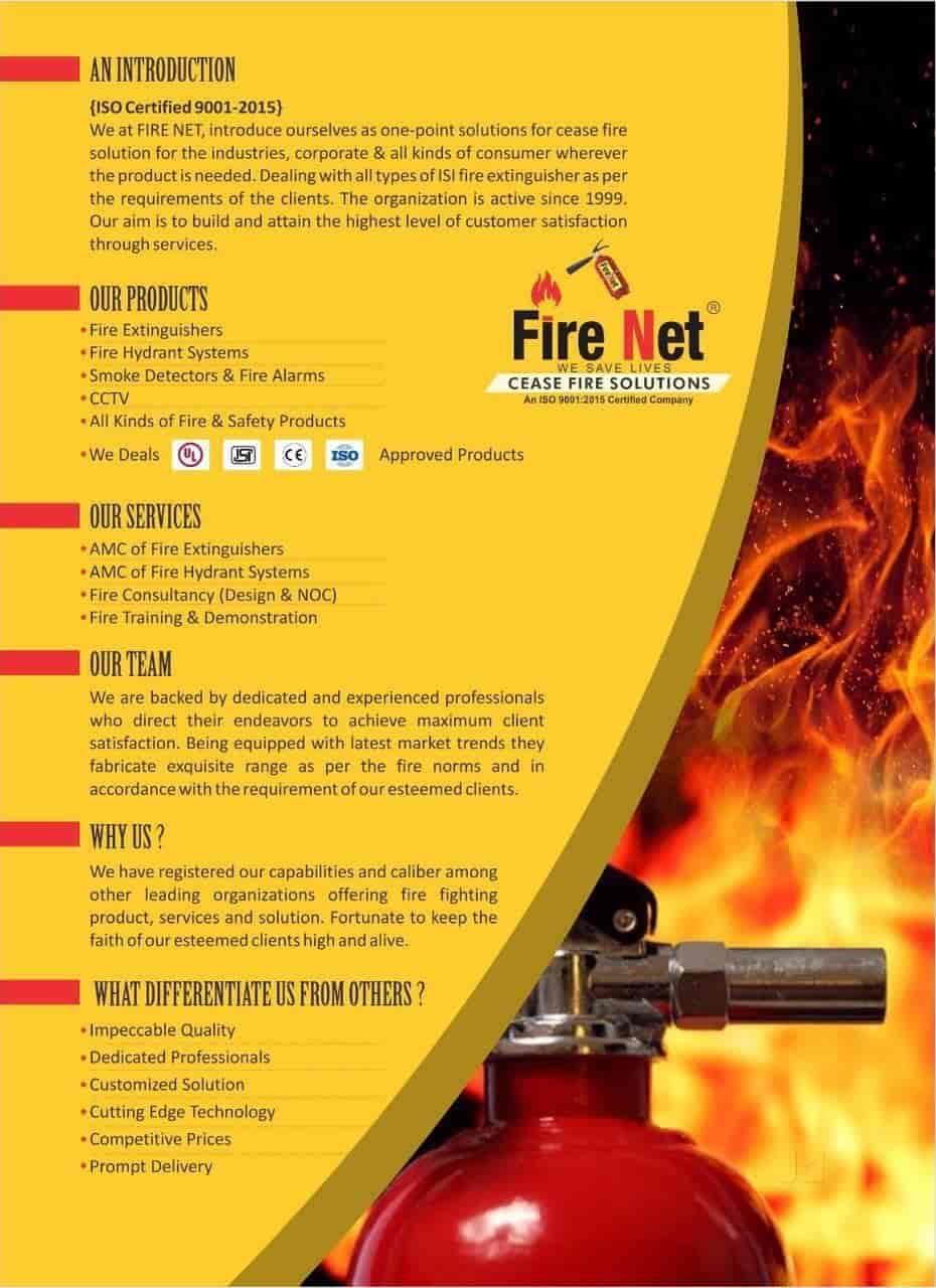 Fire Net Cease Fire Solutions, Khajrana - CCTV Dealers in