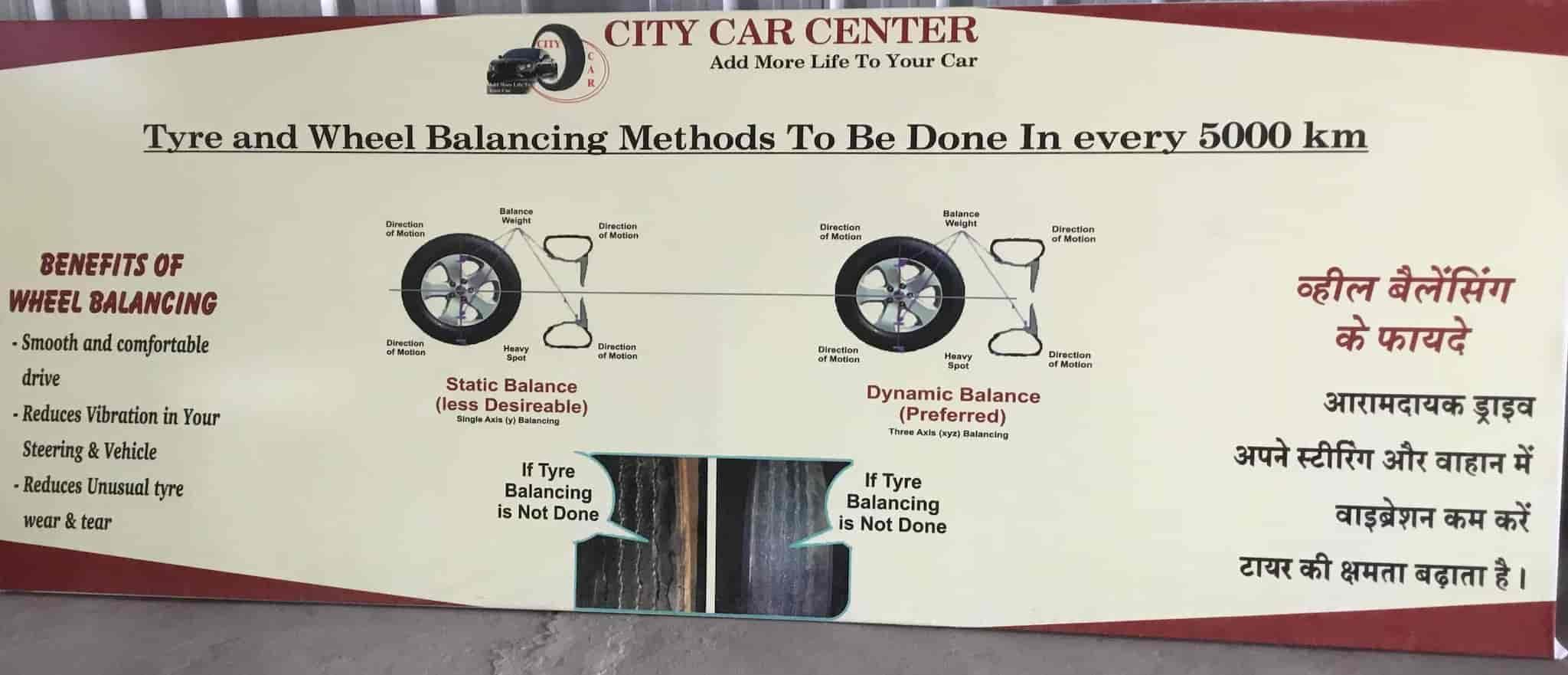 City Car Centre, Bhicholi Mardana - Car Cleaning Services in