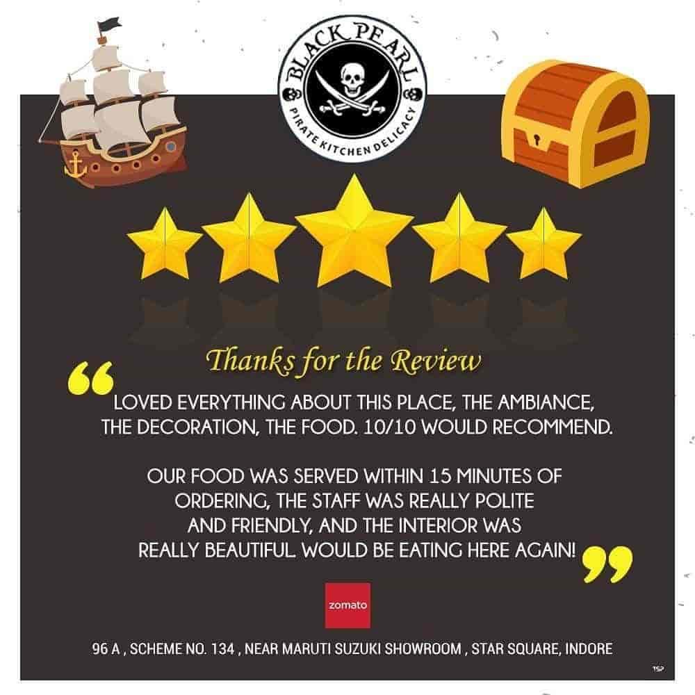 Black Pearl, Vijay Nagar, Indore - Restaurants - Justdial