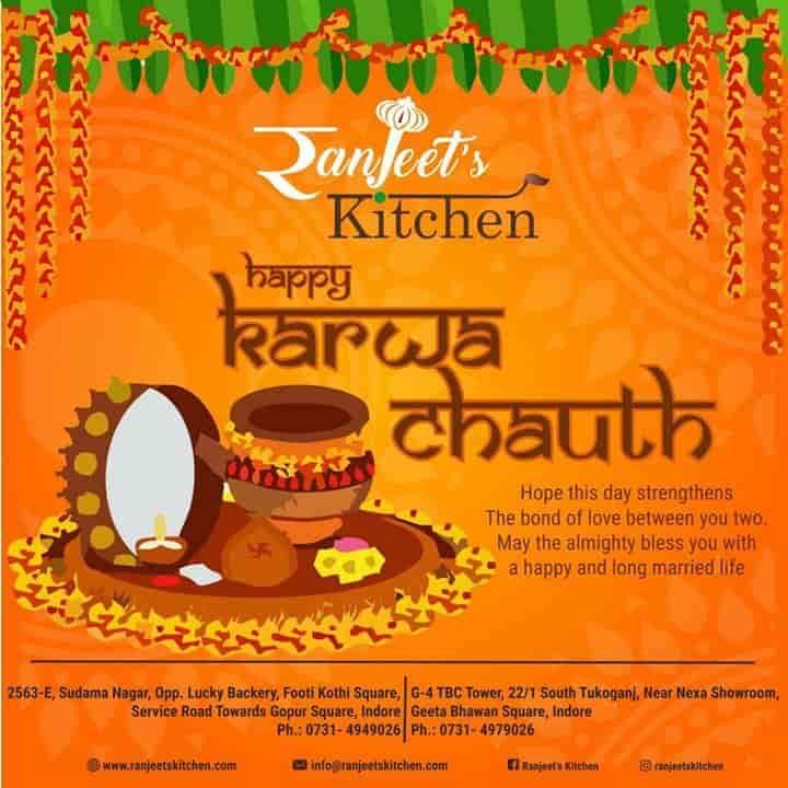 Ranjeets Kitchen, Sudama Nagar, Indore - North Indian, Pure