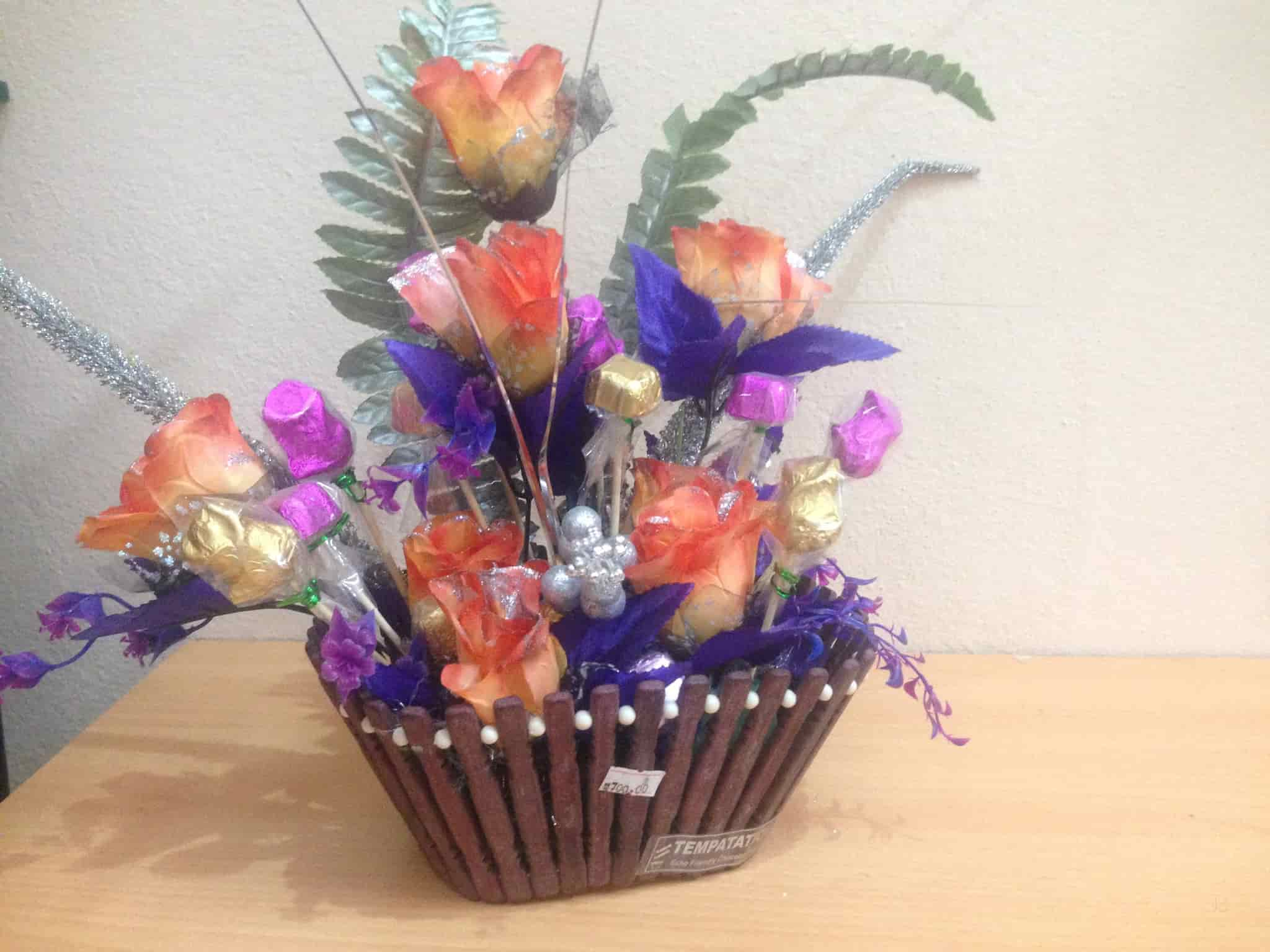 Outstanding Chocolate Flower Bouquet Tutorial Embellishment - Images ...