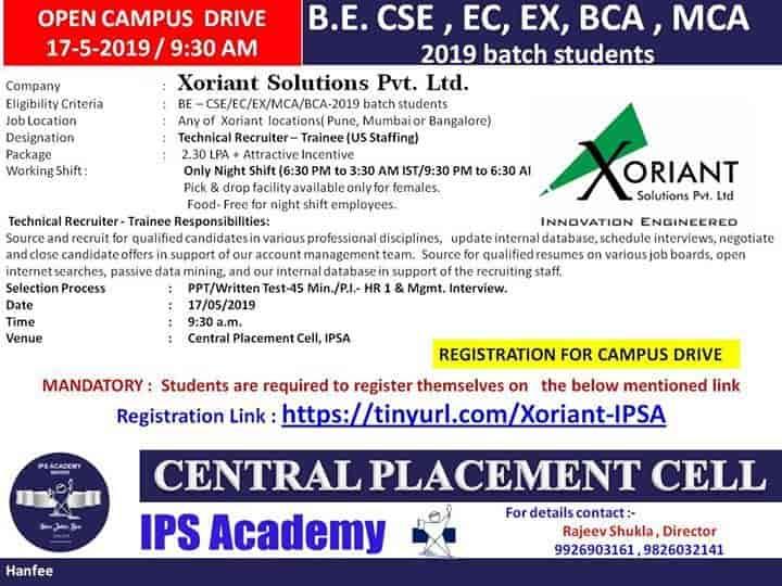 IPS Academy, Rajendra Nagar - Institutes in Indore - Justdial