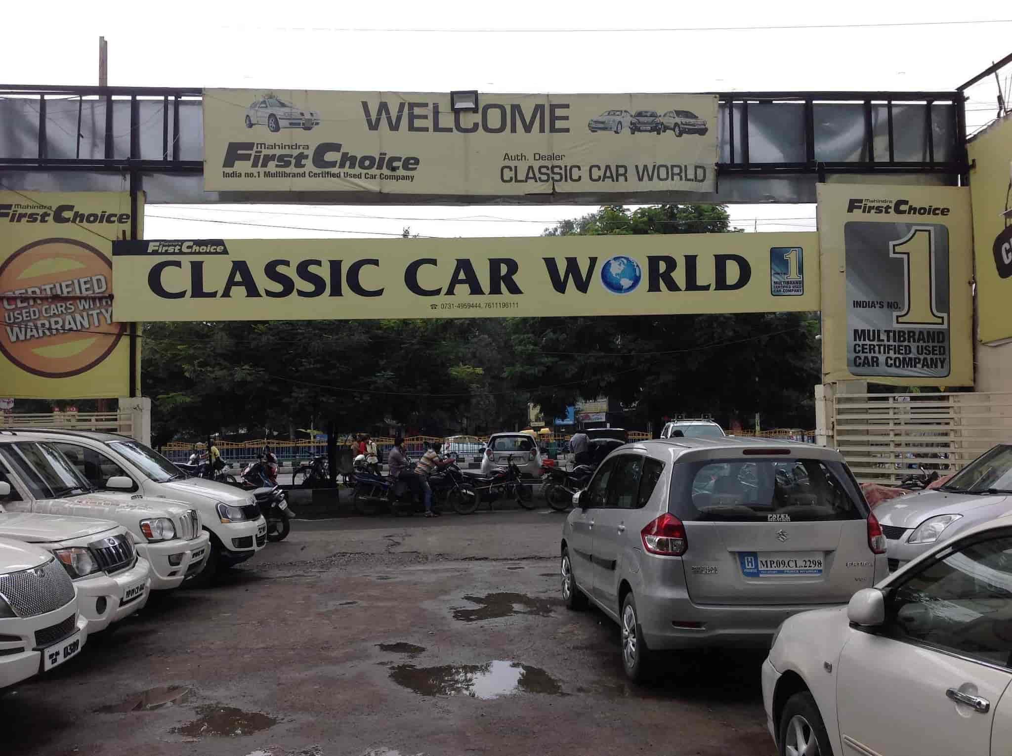 Classic Car World Mahindra First Choice Reviews Bhawar Kuan Indore
