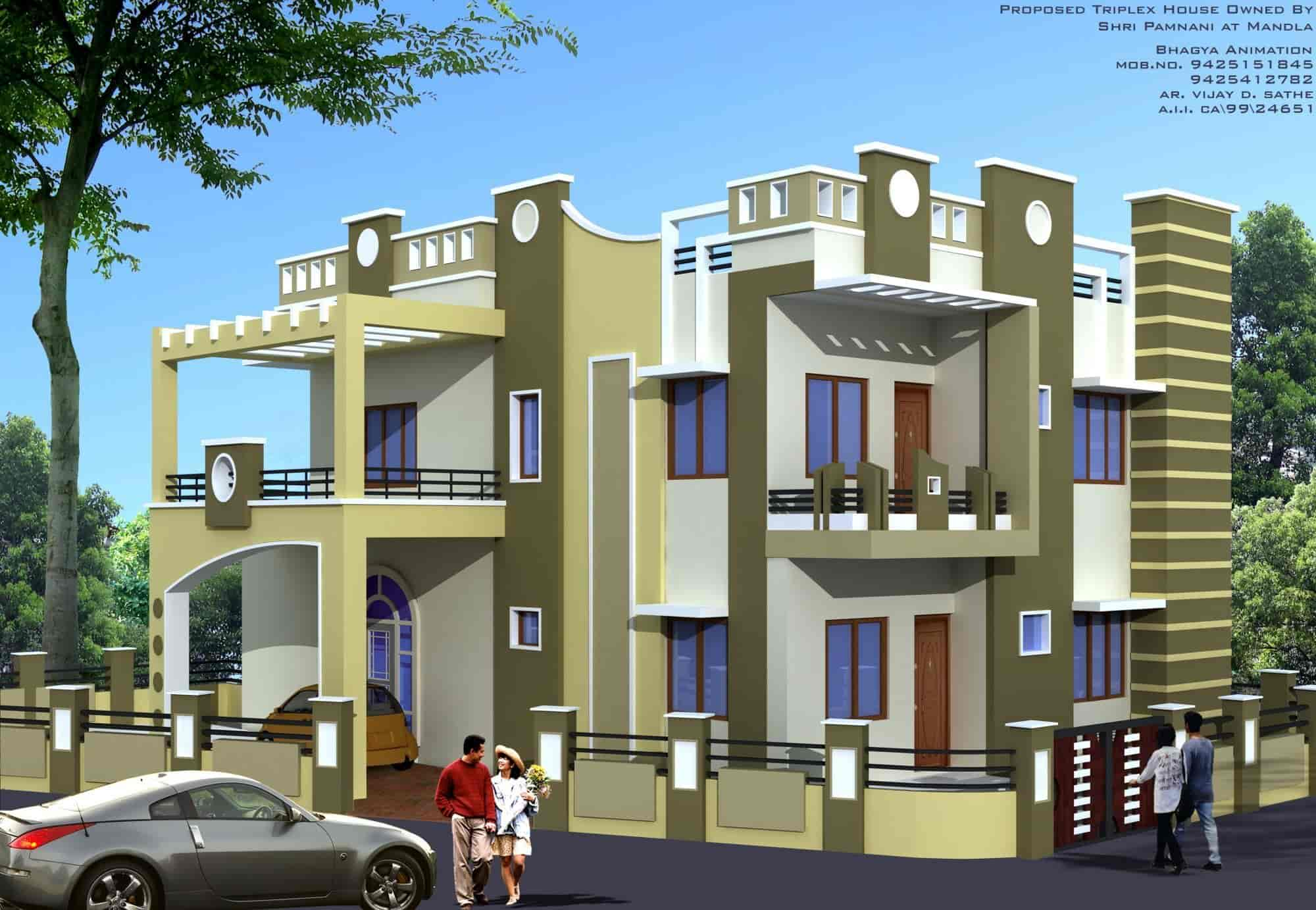 Perfect 3d Elevation Designer Photos, Madan Mahal, Jabalpur ...
