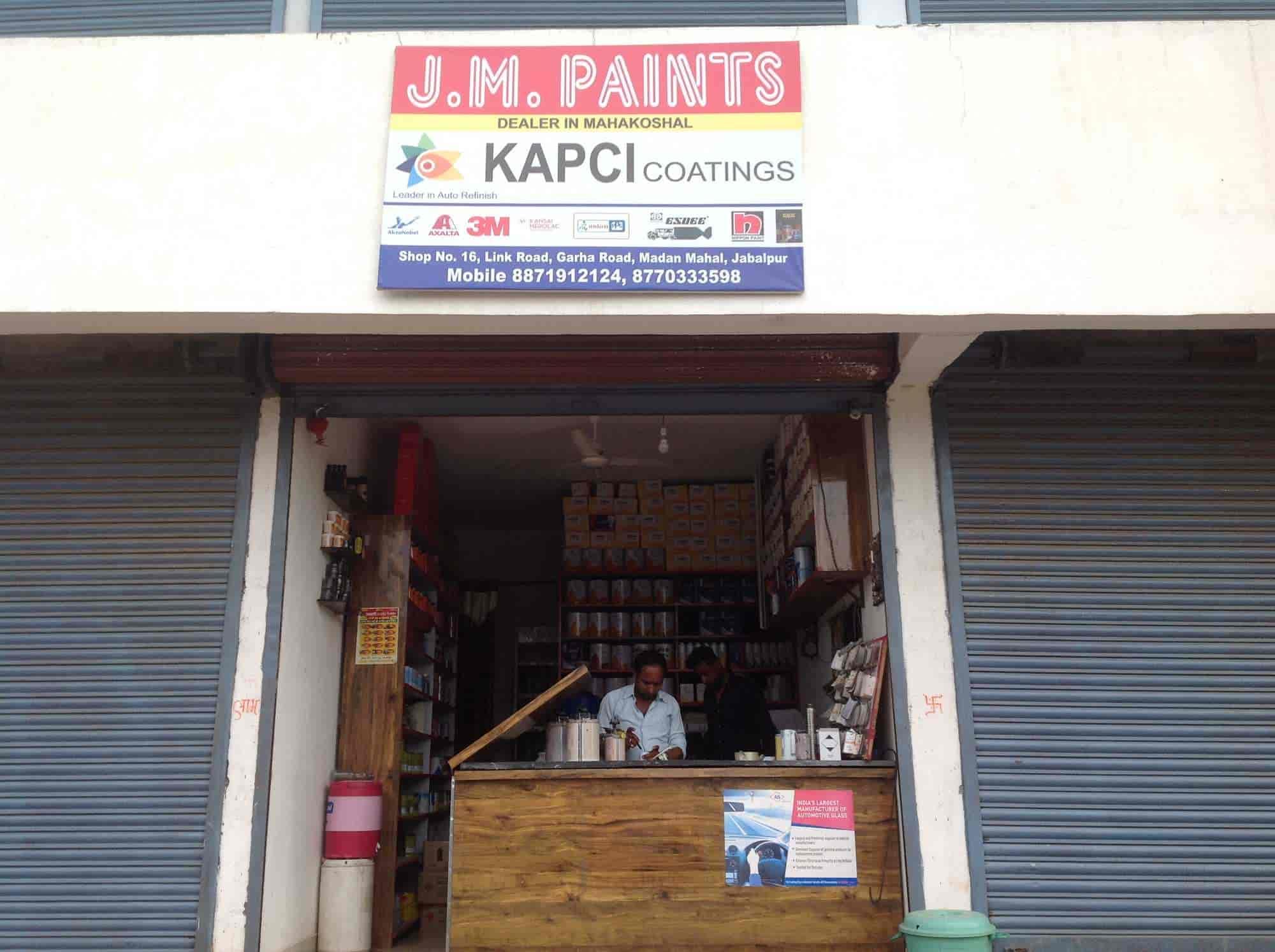J M Paints Photos Madan Mahal Jabalpur Automotive Paint Dealers