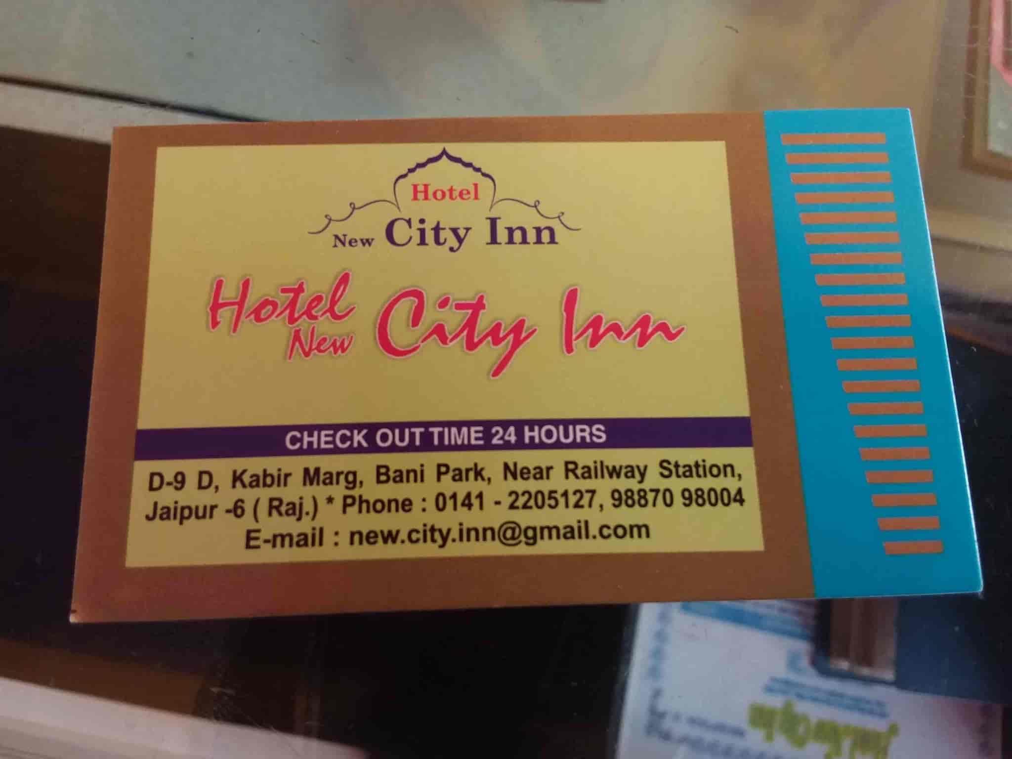 Hotel New City Inn, Bani Park - Hotels in Jaipur - Justdial