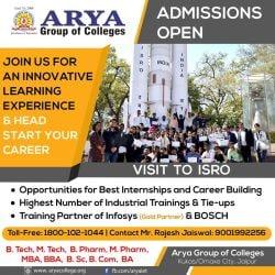 Arya Institute Of Engineering & Technology, Jaipur Gpo - MBA