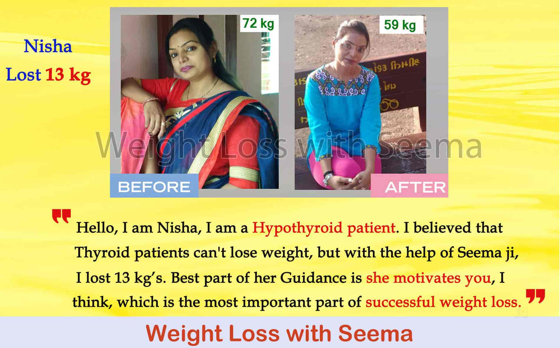 Weight Loss With Seema, Mansarovar - Weight Loss Consultants