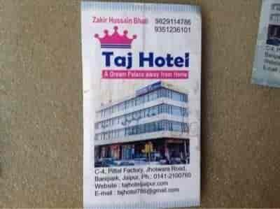 Taj hotel bani park hotels in jaipur justdial thecheapjerseys Choice Image