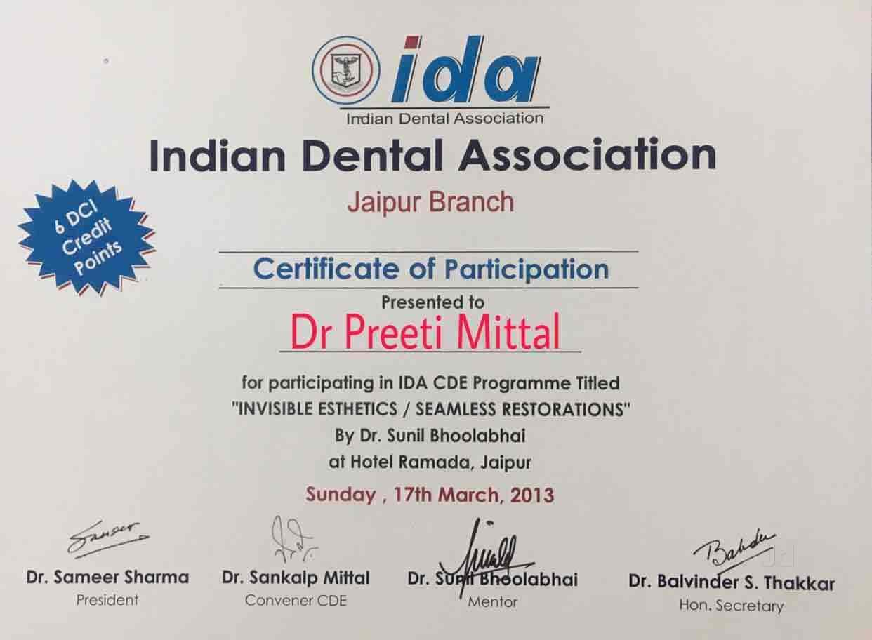 Mittal Dental Clinic Implant Laser Centre Nirman Nagar Dentists