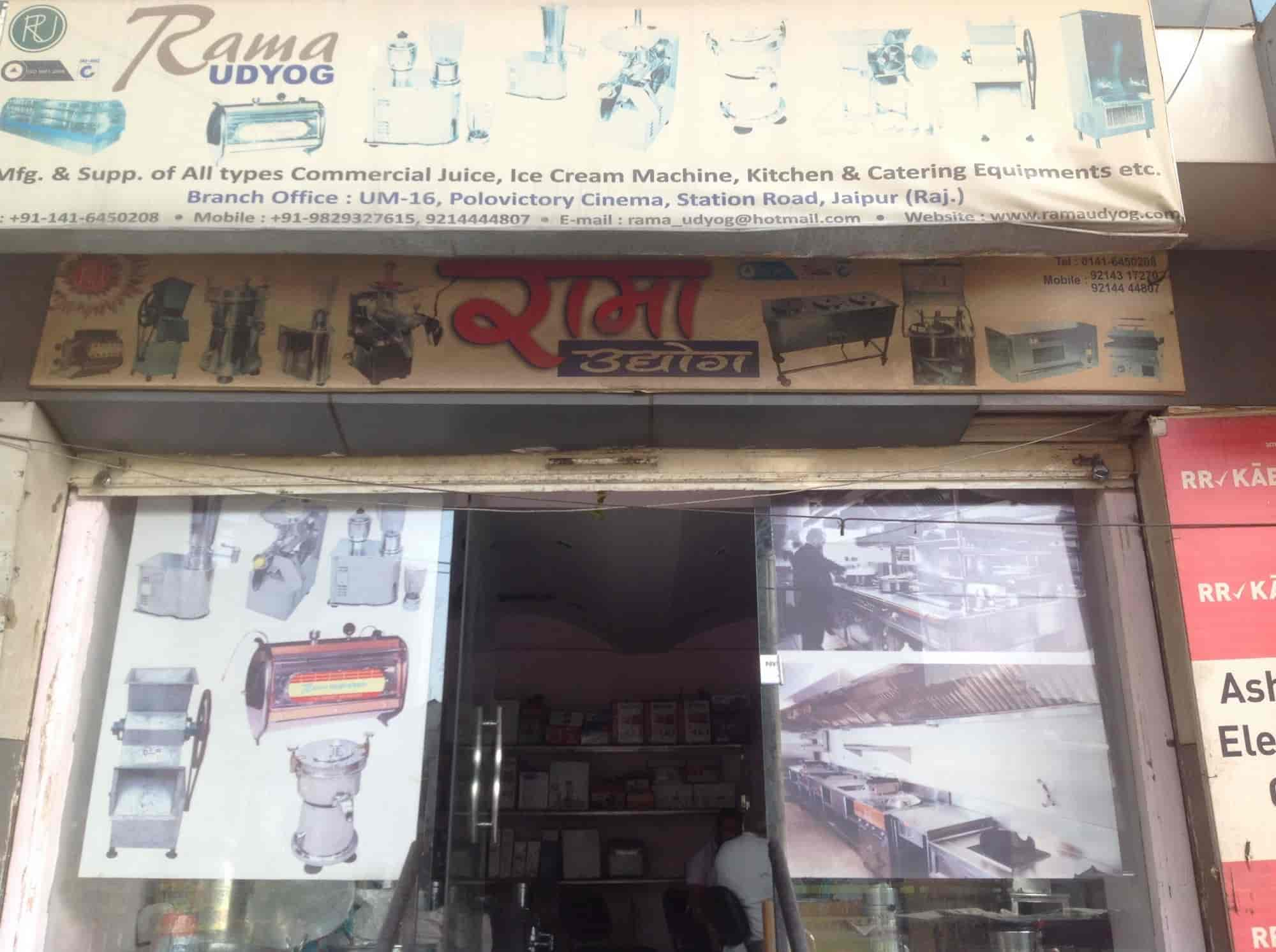 ... Front View Of Industrial Kitchen Equipment Shop   Rama Udyog Photos,  Station Road Jaipur, ...