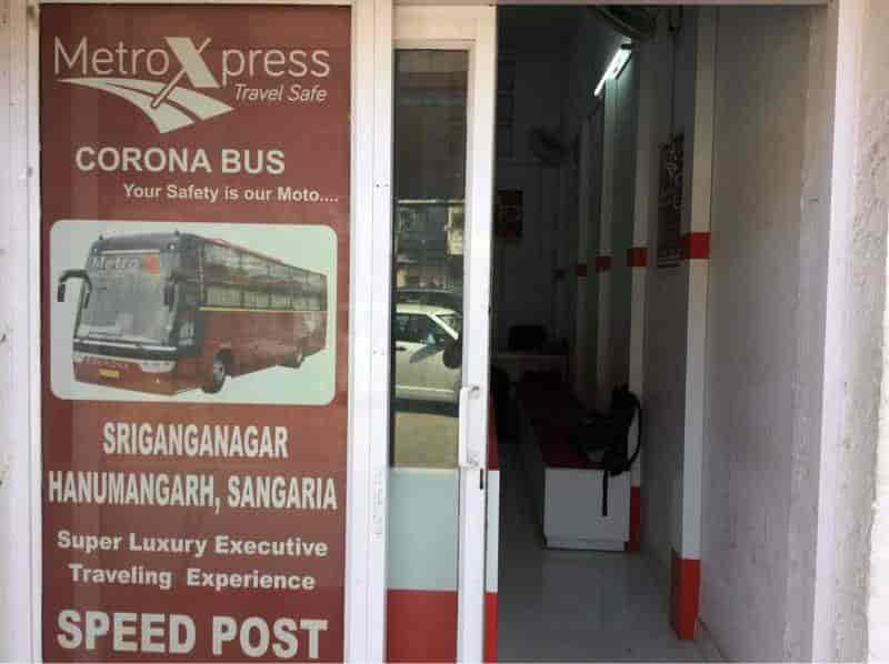 Metro Xpress, Station Road Jaipur - Bus Services in Jaipur