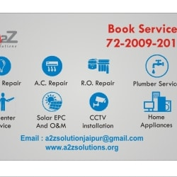 A2z Solutions, Vaishali Nagar - Refrigerator Repair & Services in